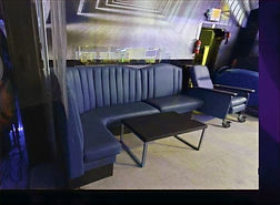 """The SPOTT Night Club L-Shaped Booth """"The Couch"""""""