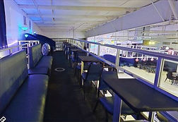 Upper Deck Benches at The SPOTT Night Club
