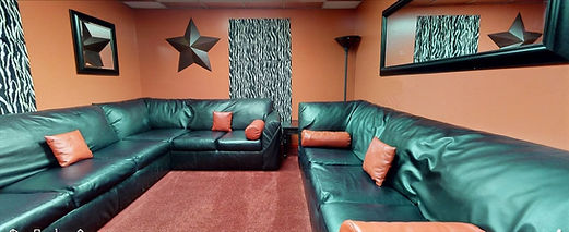 Private, Intimate Theme Lounge - The Red Room