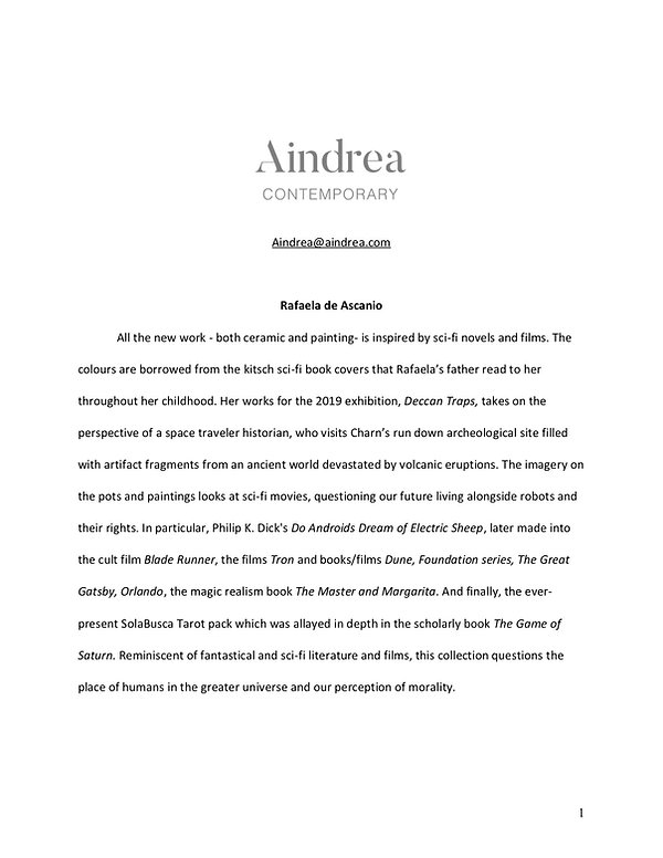 Rafaela de Ascanio Works Press Release.j
