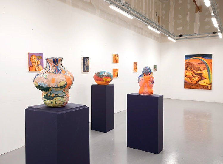 Back To Back Installation View