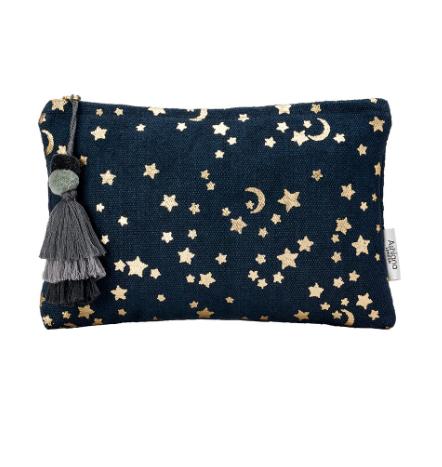Santa Eualia - Moon & Stars Pouch