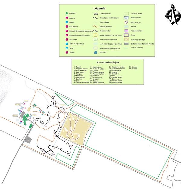 (1) Carte initiale Ville la joie Sainte