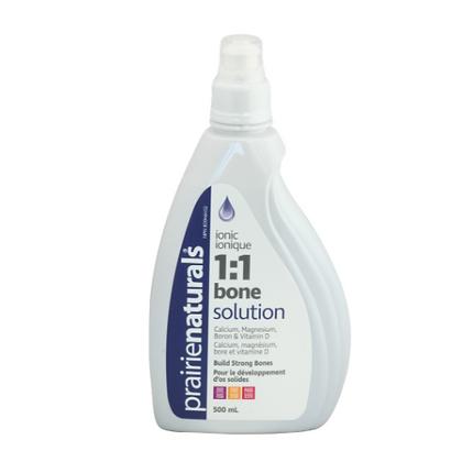 Prairie Naturals 1:1 Bone Solution 500 ml