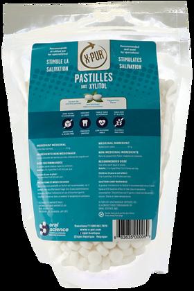 X-PUR Pastilles (mint) 100% Xylitol - Bags