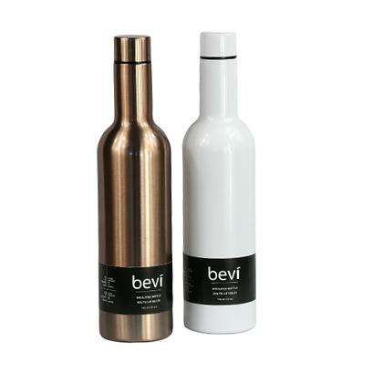 Bevi Re-useable water bottle *steel*