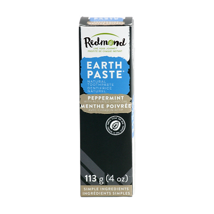 Redmond Earth Paste *peppermint with activated charcoal*