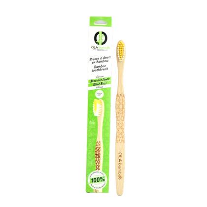 OLA Bamboo *adult manual toothbrush*