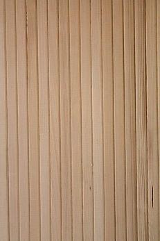 Profil-Holz-Elemente mit V-Fase