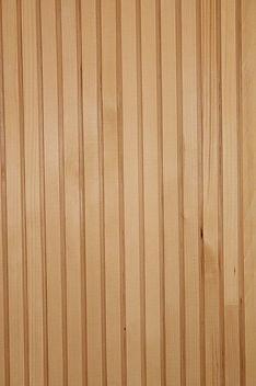 Profil-Holz-Element mit Akustikfraesung.