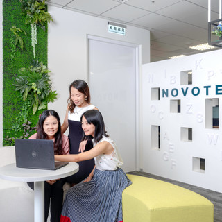 Novotech, taiwan, taipei, company, advertising, photographer, photo, office, coworking, desk,