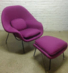 Knoll Womb Chair Reupholster