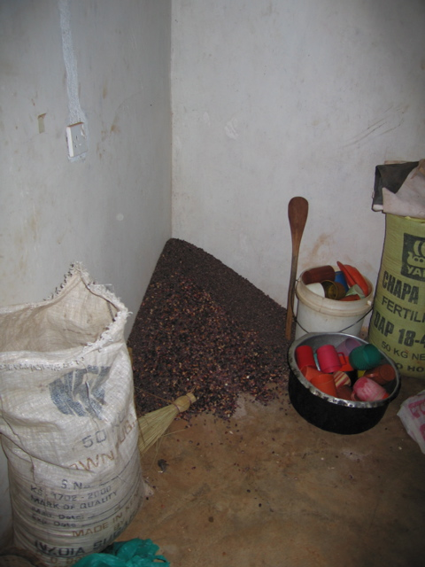 Chapter 8 and 33 - beans corner of flour mill