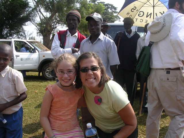 Kristen and Hannah