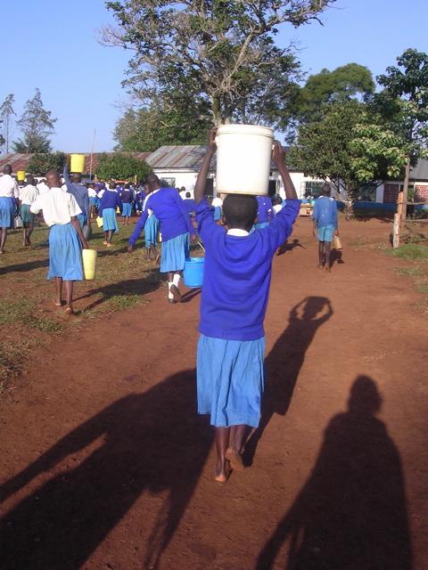 Chapter 34 - water bucket on head to school
