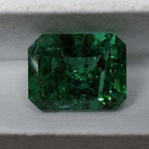 0.45 Carat GIA Certified Traditional Cut  Emerald