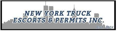 New York Truck Escorts & Permits Logo