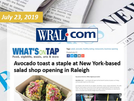 Avocado toast a staple at New York-based salad shop opening in Raleigh