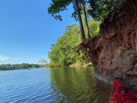 From a Red Kayak - Summer in NC