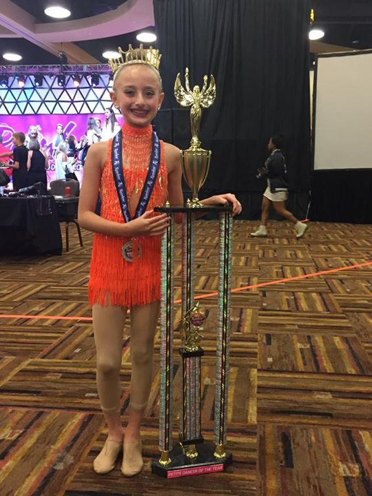 Petite Dancer of the year,  title winner in the Elite Starz 8 and younger Congratulations Lindsay Ko