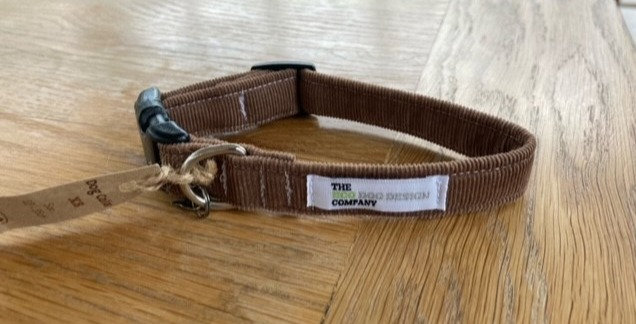XS Brown Cord Collar