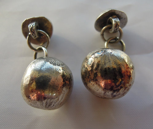 Silver Hazel - Cufflinks