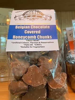 Belgian Chocolate Covered Honeycomb Chunks