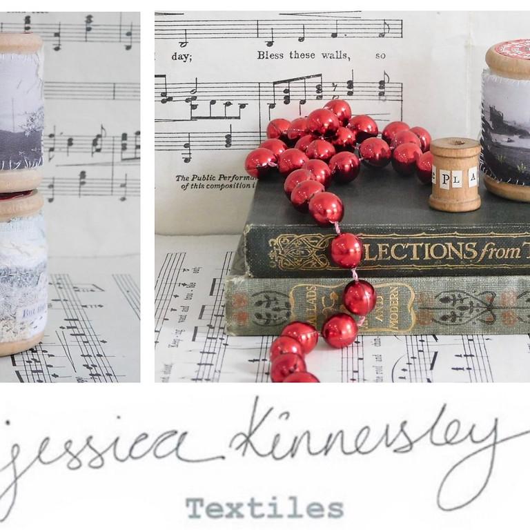 Miniature Landscapes: Altered Bobbins Textile Workshop