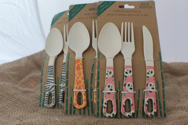 Bamboo Cutlery Sets