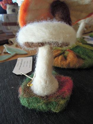 Small Needle Felted Mushroom