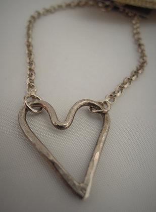 Silver Heart - Bracelet
