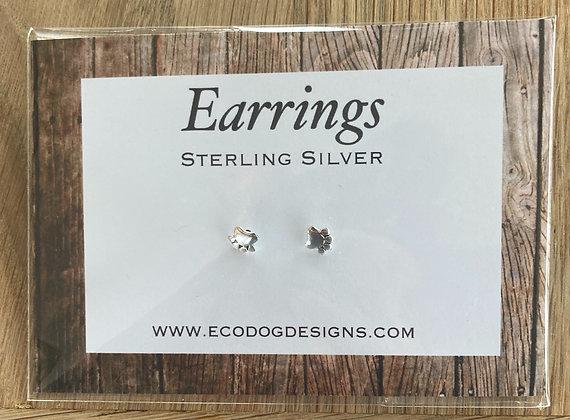 Paw Print Earring