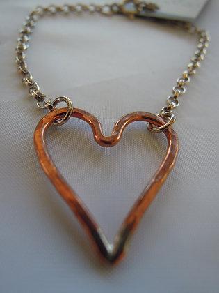 Copper Heart - Bracelet