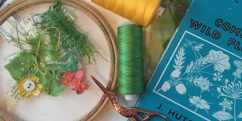 Wildflowers in Stitches Workshop