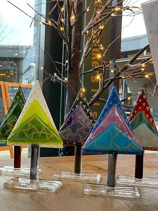 Handmade Glass Tree