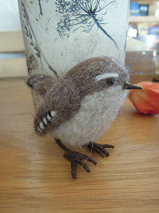 Needle Felted Brownbird