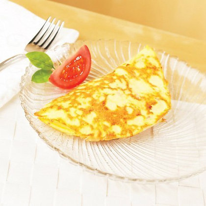 HIGH PROTEIN BACON AND CHEESE OMELET($1.89/svg)