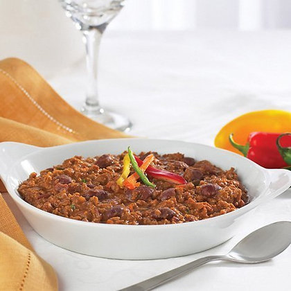 HIGH PROTEIN VEGETABLE CHILI WITH BEANS ($2.09/svg)