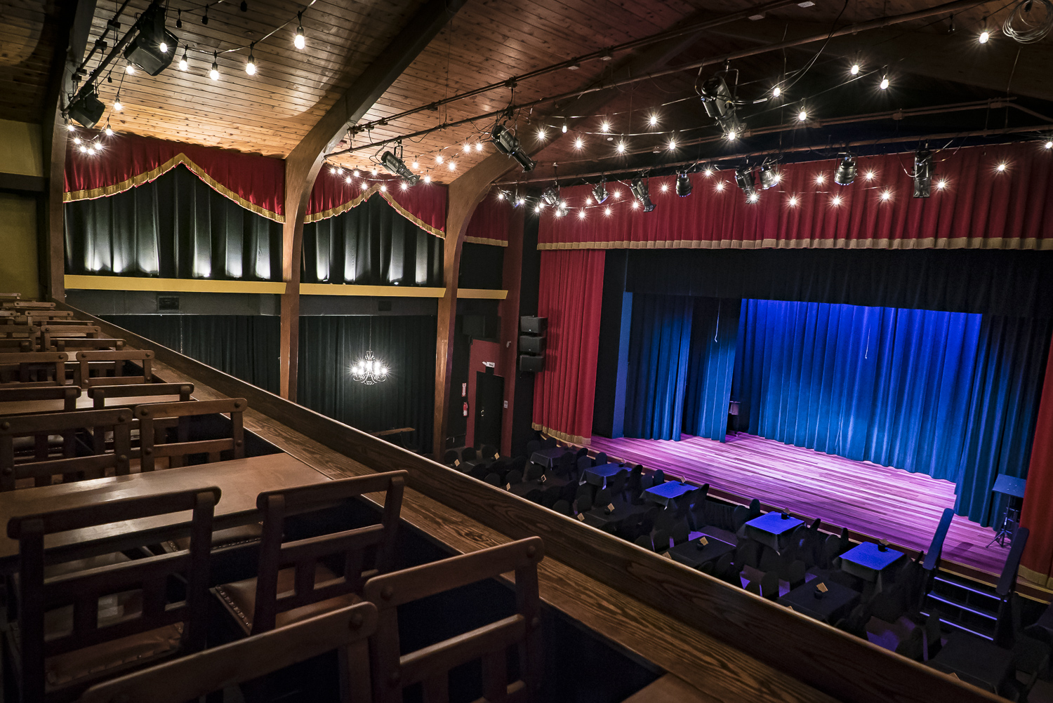 Key West Theater balcony seating