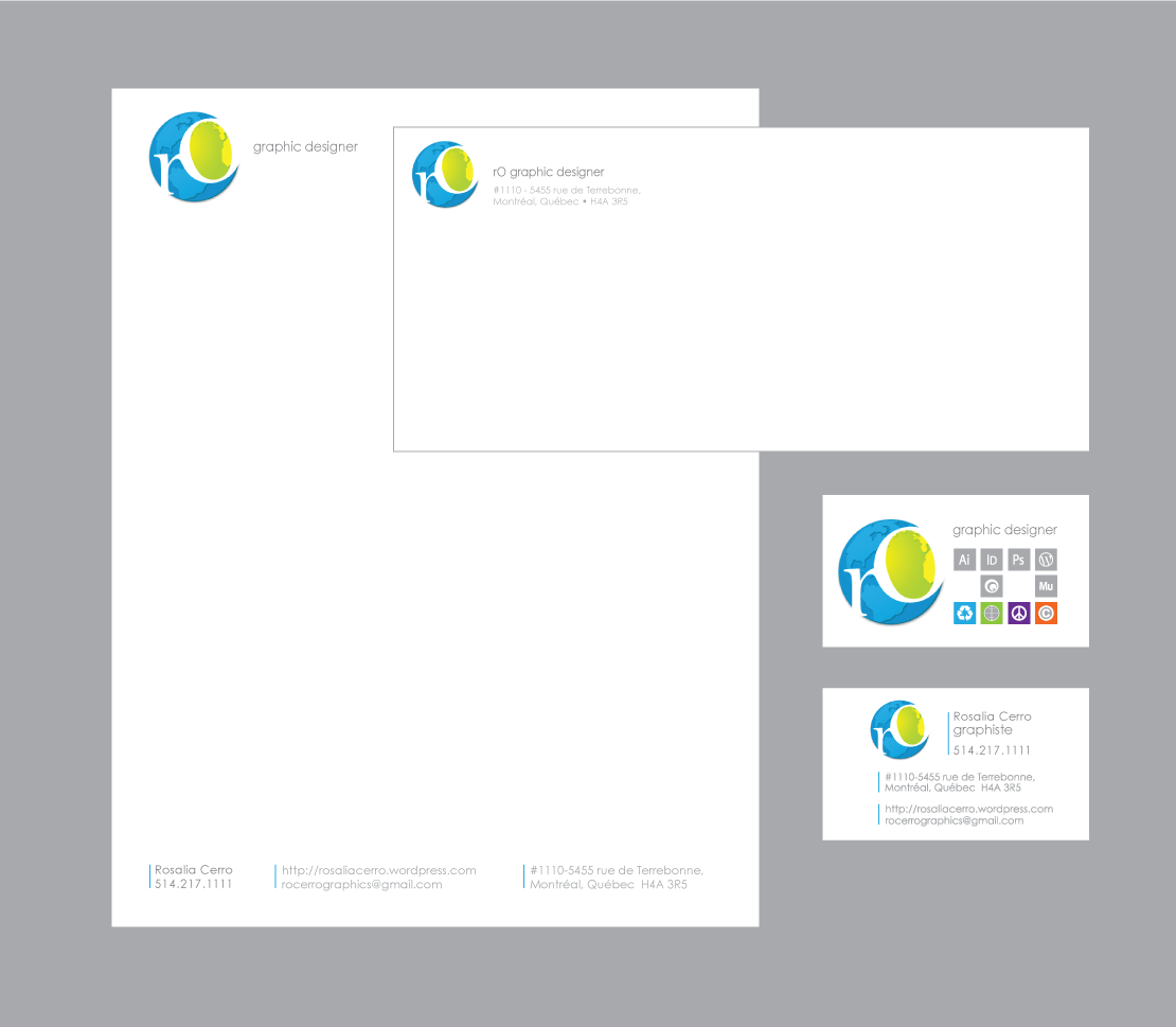 Stationary and business card design