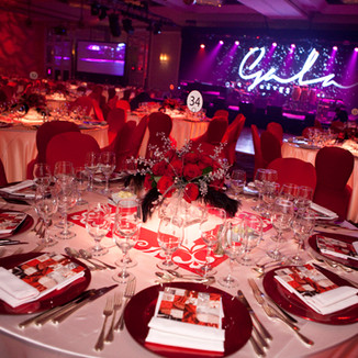 Corporate functions and Galas / Fonctions et galas corporatifs