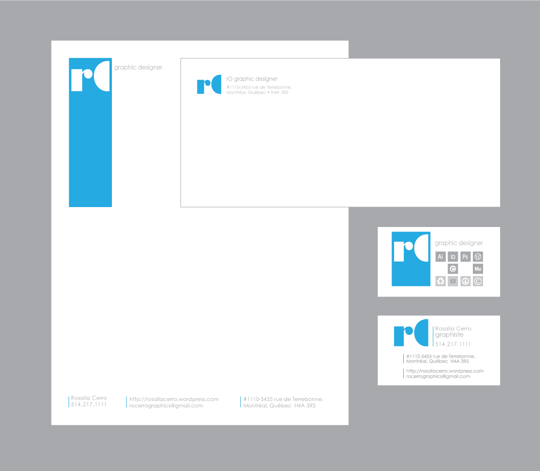 Stationary & business card design