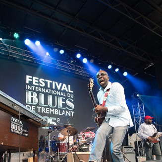 Mont-Tremblant International Blues Festival  /       Festival International du Blues de Tremblant