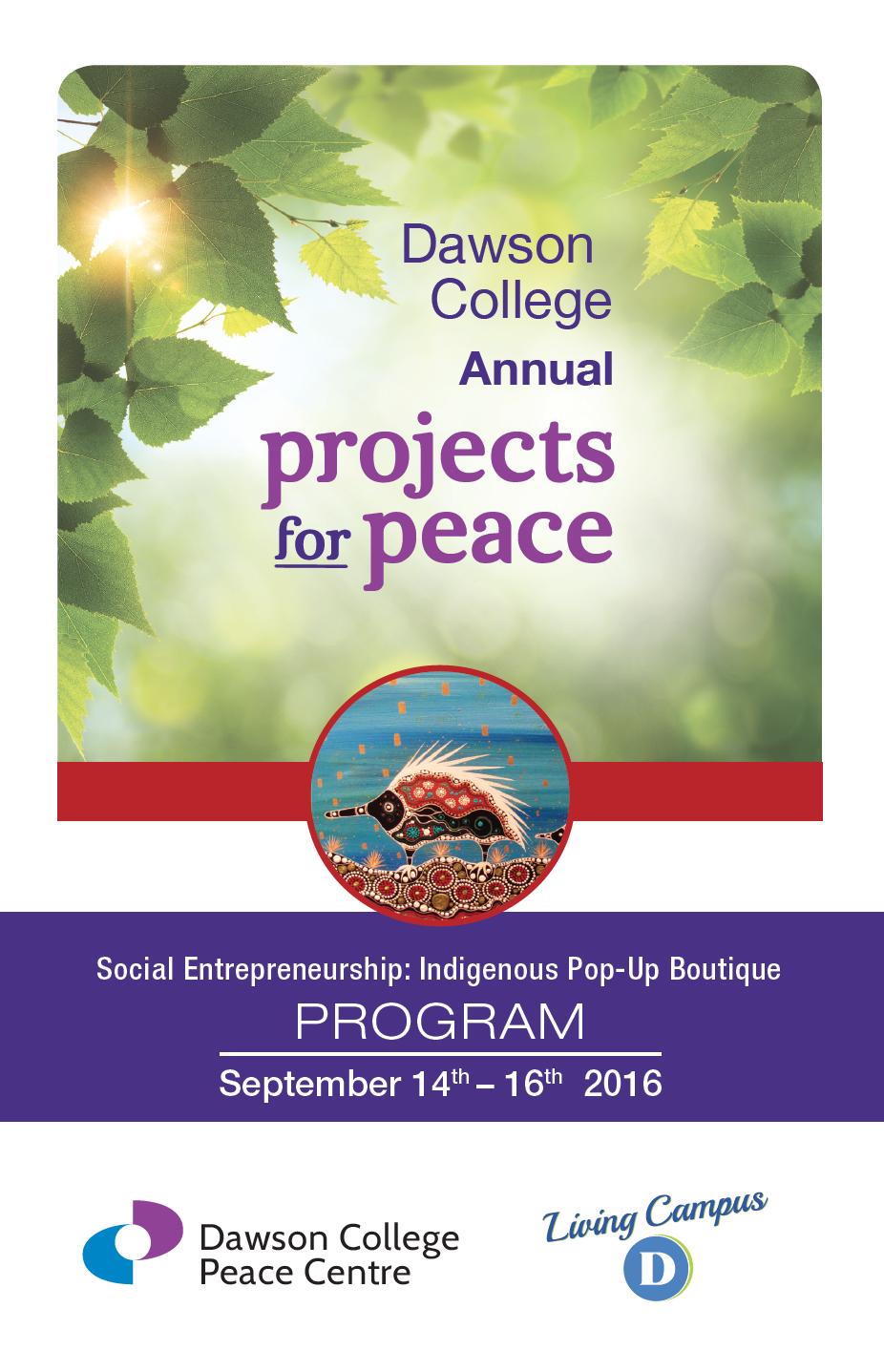Program for Symposium
