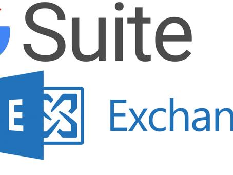 Google G Suite or Microsoft Exchange?