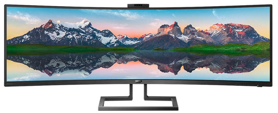 Philip's SuperWide 49-inch curved LCD display