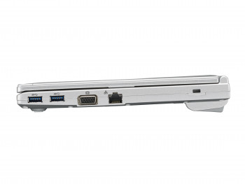 Panasonic Toughbook SV8 side view