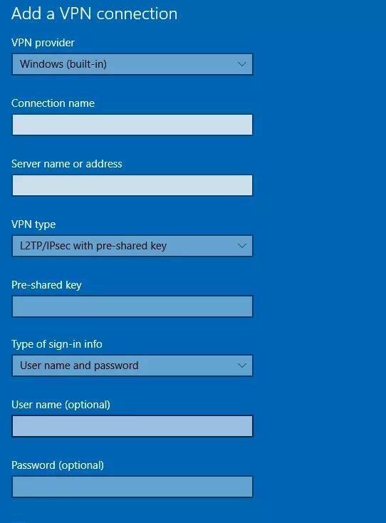 Set up Synology L2TP IPSEC VPN for Windows