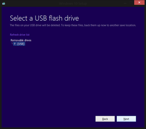 Easy way to make a bootable Windows 10 USB