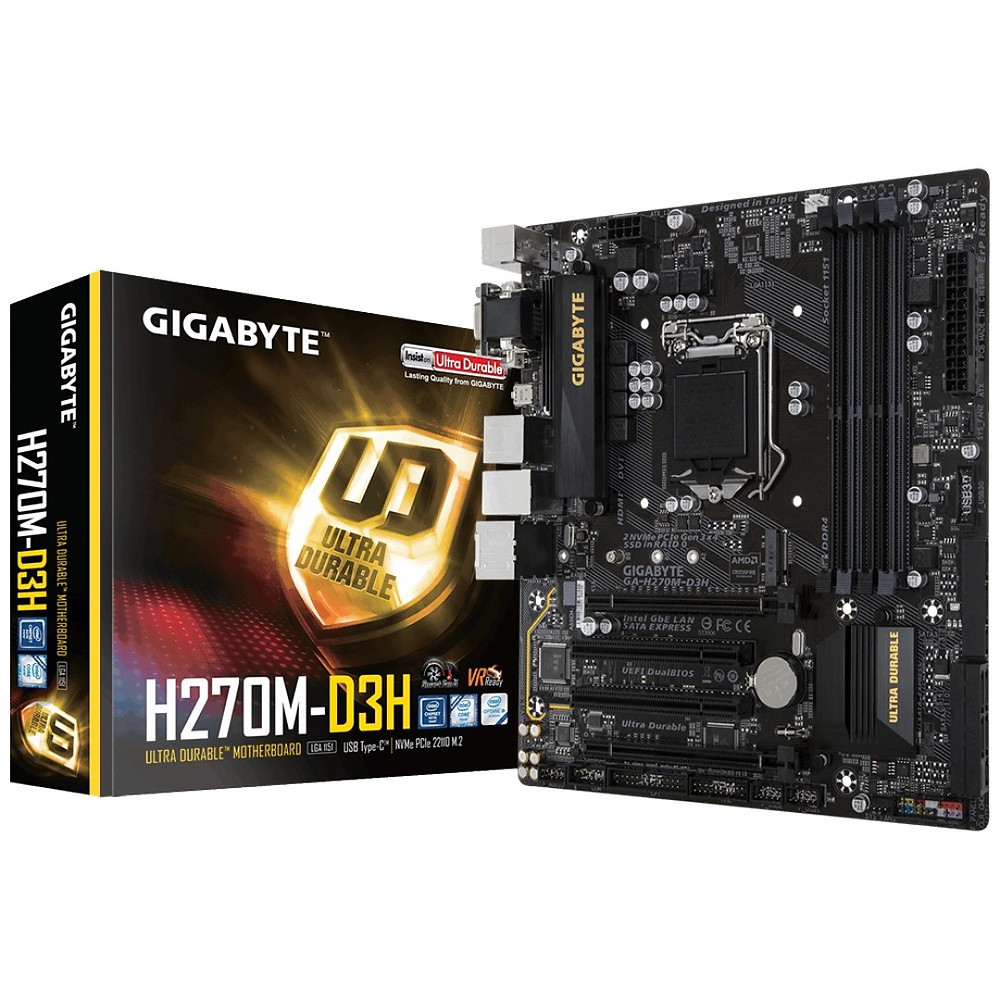 gigabyte pc build motherboard it block it services